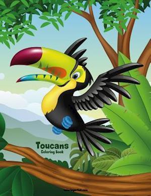 Toucans Coloring Book 1
