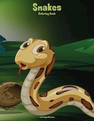 Snakes Coloring Book 1