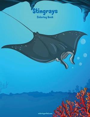Stingrays Coloring Book 1