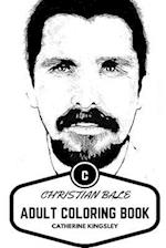 Christian Bale Adult Coloring Book