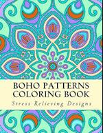 Boho Patterns Coloring Book
