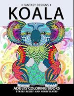 Koala Adults Coloring Book