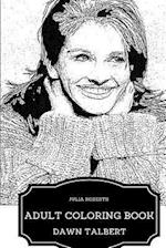 Julia Roberts Adult Coloring Book