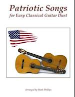 Patriotic Songs for Easy Classical Guitar Duet