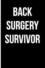Back Surgery Survivor