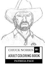 Chuck Norris Adult Coloring Book