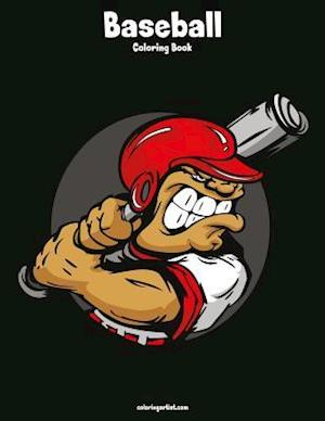 Baseball Coloring Book 1
