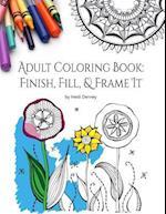 Adult Coloring Book af Heidi Denney