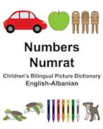 English-Albanian Numbers/Numrat Children's Bilingual Picture Dictionary