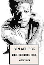 Ben Affleck Adult Coloring Book