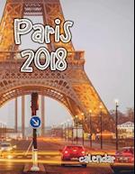 Paris 2018 Calendar (UK Edition)