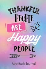 Thankful People Are Happy People