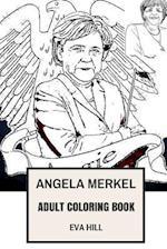 Angela Merkel Adult Coloring Book