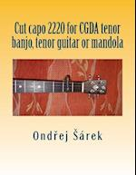 Cut Capo 2220 for Cgda Tenor Banjo, Tenor Guitar or Mandola