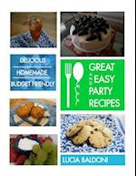 Great and Easy Party Recipes