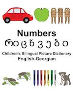 English-Georgian Numbers Children's Bilingual Picture Dictionary