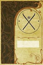 Monogram Skiing Notebook