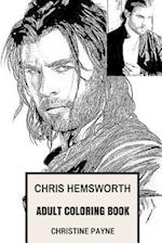 Chris Hemsworth Adult Coloring Book