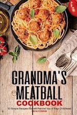 Grandma's Meatball Cookbook