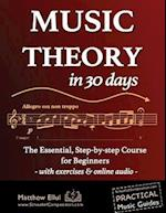 Music Theory in 30 Days