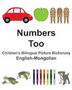 English-Mongolian Numbers/Too Children's Bilingual Picture Dictionary
