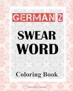 German 2 Swear Word Coloring Book