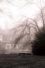Misty December Fog in the Winter Landscape Notebook