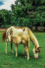 Horse Lovers Journal (Lined, Ruled Paper, Medium Size Diary for Writing, Journaling, Notebook to Write in for Women, Girls, Boys, Men, Teens, Tweens,