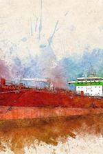 Ship in Watercolour Notebook