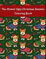 The Animal Ugly Christmas Sweater Coloring Book