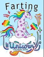 Farting Unicorn Coloring Books