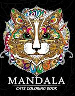 Mandala Cats Coloring Books