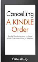 Cancelling a Kindle Order