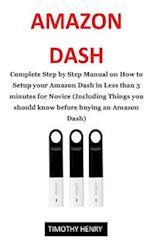 Amazon Dash User Guide
