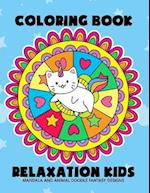Coloring Book Relaxation Kids