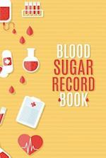 Blood Sugar Record Book