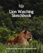 Lion Watching Sketchbook