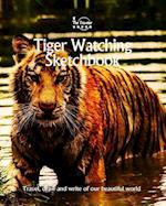 Tiger Watching Sketchbook
