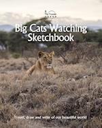 Big Cats Watching Sketchbook