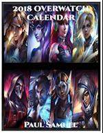 2018 Overwatch Calendar