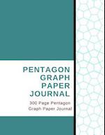 Pentagon Graph Paper Journal - 300 Page Pentagon Graph Paper Journal