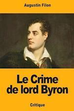 Le Crime de Lord Byron