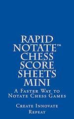 Rapid Notate Chess Score Sheets Mini