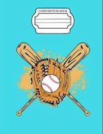 Dreaming of Baseball, Composition Book, Wide Ruled