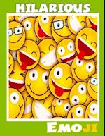 Hilarious Emoji (Coloring Book for Family )