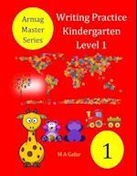 Writing Practice Kindergarten Level 1