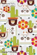 Mexican Style Illustrated Lined Journal