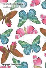Fantastic Butterflies Lined Journal