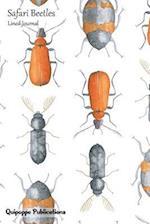 Safari Beetles Lined Journal