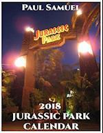 2018 Jurassic Park Calendar